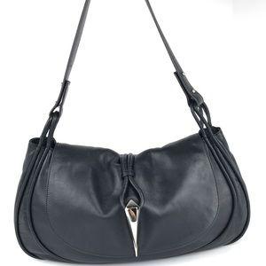 MaxMara Black Leather Handbag